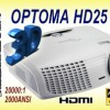 Nuevos modelos de Optoma a la vista !! HD25 , HD25-LV , HD91