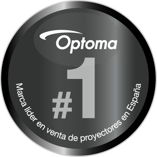 No.1 Market Share in Projectors in Spain_CMYK